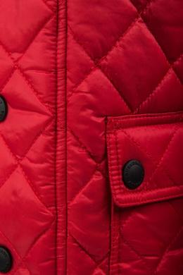 Стеганая куртка Burberry Kids 125345987