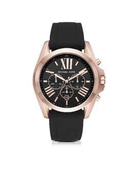 Bradshaw - Мужские Часы Хронограф из Нержавеющей Стали с Напылением Розового Золота Michael Kors MK8559