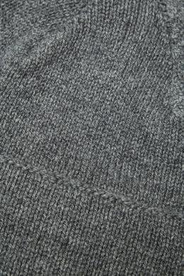 Серая меланжевая шапка из кашемира Canali 179365625