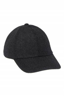 Темно-серая шерстяная кепка Canali 179365691