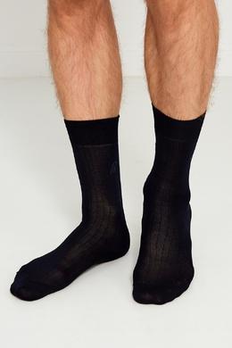 Черные носки из хлопка Brioni 167071943