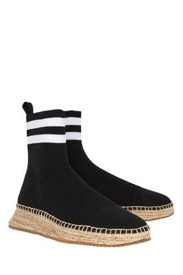 Черные текстильные ботинки Alexander Wang 36770105