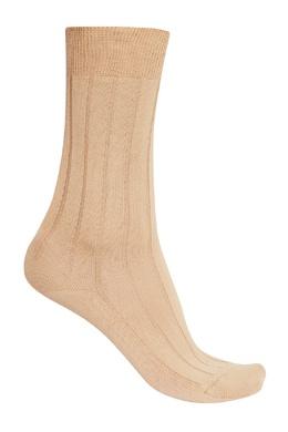 Бежевые носки из хлопка Artioli 167473411