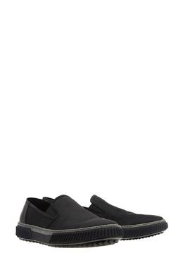 Черные слипоны Prada 4080573