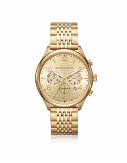 Merrick - Золотистые Мужские Часы Хронограф Michael Kors MK8638