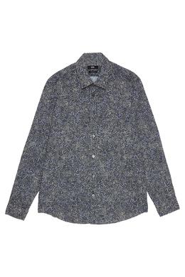 Рубашка с принтом Boss by Hugo Boss 116663946