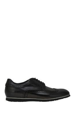 Кожаные туфли с перфорацией Boss 116664083