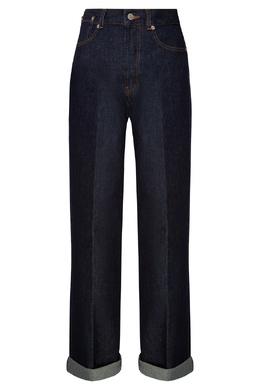 Синие джинсы Dries Van Noten 152599471