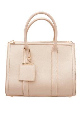 Серебристая сумка Elisabetta Franchi 1732100255