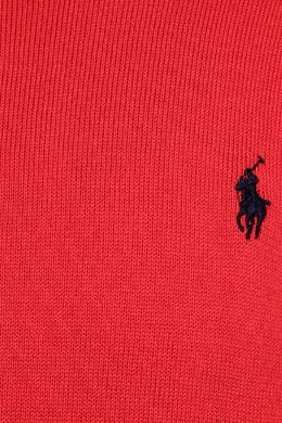 Красный джемпер с логотипом Ralph Lauren Kids 125295189
