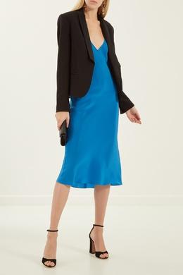 Синее платье-комбинация Alexander Terekhov 7494770
