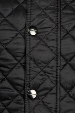 Черная стеганая куртка Burberry Kids 125395251