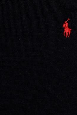 Черный джемпер с логотипом Ralph Lauren Kids 125295196