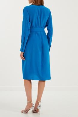 Платье ярко-голубое Alexander Terekhov 7497923