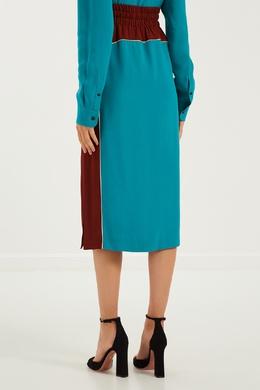 Двухцветная юбка Dries Van Noten 152599510