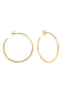 Позолоченные серьги-кольца Maxi из коллекции Milky way Lav'z 2727101361