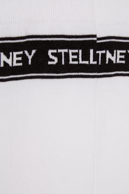 Высокие белые носки Stella McCartney 193100988