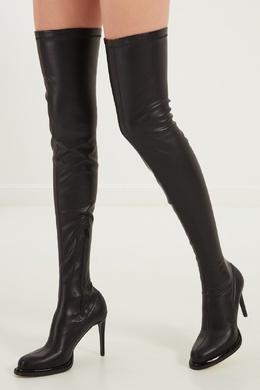 Высокие черные сапоги Stella McCartney 193101254