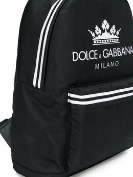 Dolce & Gabbana Kids - рюкзак с принтом логотипа 635AN553933999660000