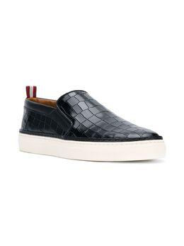 Bally кроссовки с тисненым эффектом крокодиловой кожи 6221249
