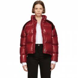 Moncler Genius 2 Moncler 1952 Red Chouette Down Jacket 182171F06101005GB