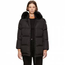 Moncler Genius 2 Moncler 1952 Black Mergule Down Jacket 182171F06100907GB