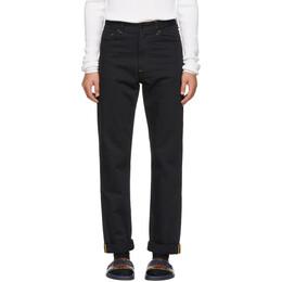 Fendi Black Fendi Mania Jeans 191693M18600202GB