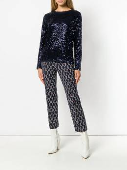 P.a.r.o.s.h. sequined long sleeve top D170507ROCKET