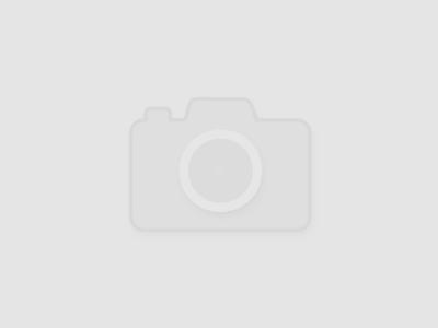 Attico - бархатное платье мини на одном плече 98556935536660000000