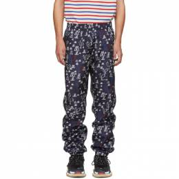 Moncler Genius 2 Moncler 1952 Navy Pop Art Lounge Pants 182171M19000202GB