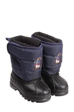 Комбинированные сапоги Ralph Lauren Kids 1252102825
