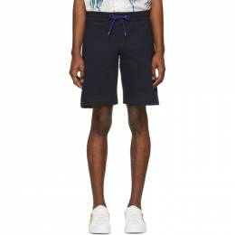 Ps by Paul Smith Navy Sweat Shorts M2R 429R B20075