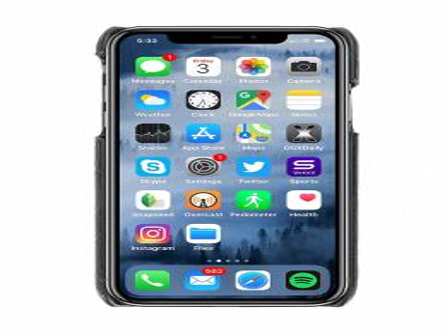 Saint Laurent embossed fashion iPhone 10 case 535312C9H0U