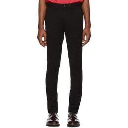 Rag&Bone Black Fit 1 Classic Chino Trousers 191055M19100207GB