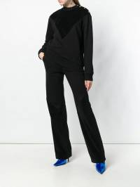 Givenchy - high rise track pants 63Q36669300638500000