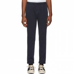 Ps by Paul Smith Navy Stretch Trousers M2R 182T B20014
