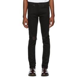 Rag&Bone Black Fit 1 Distressed Jeans 191055M18600801GB