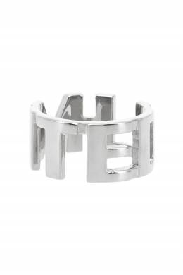 Резное кольцо с покрытием родием Insight 2800106279