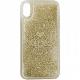 Kenzo Gold Tiger iPhone Xand Case 191387M15300101GB