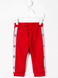 Fendi Kids - side logo track pants 995A5R09395565000000