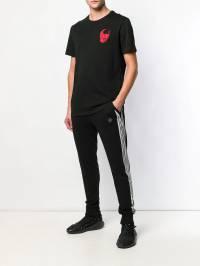 Philipp Plein - футболка с принтом черепа CMTK3638PJY660N93569