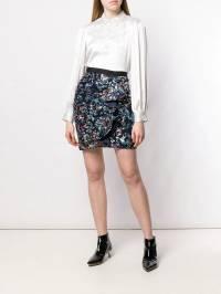 Self-Portrait - юбка с цветочной вышивкой 6693S935368630000000