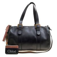 Chloe Black Leather Sam Bowler Bag 163493