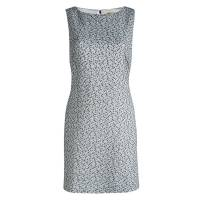Alice and Olivia Monochrome Textured Cut Out Back Detail Dress L Alice + Olivia 87983