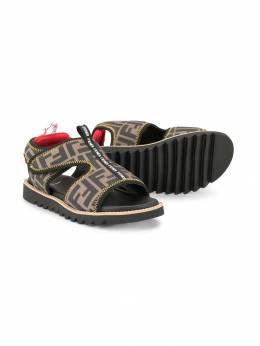 Fendi Kids - сандалии с принтом FF 069A60Q9365686300000