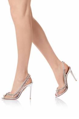 Босоножки Temptation Cristal Sandal 105 Aquazzura 975110364