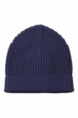 Синяя вязаная шапка Dolce&Gabbana 599110218
