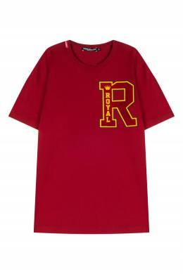 Красная футболка с принтом Dolce&Gabbana 599110256