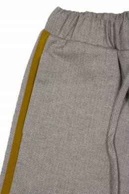 Бежевые шорты с лампасами #MumOfSix 2642111040