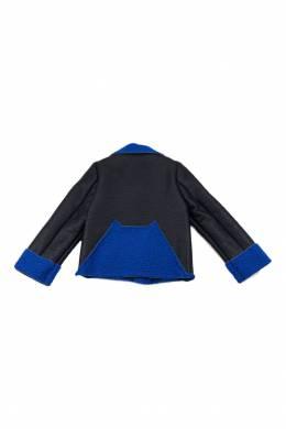 Черная куртка со скошенной молнией #MumOfSix 2642110965